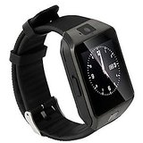 Bluetooth Smartwatch White With Apps Compatible with Celkon A119Q Signature HD