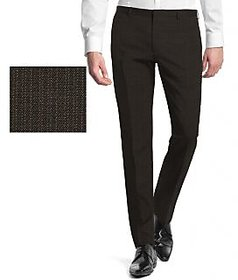 Merakapda Men's Gold Regular Fit Formal Trousers