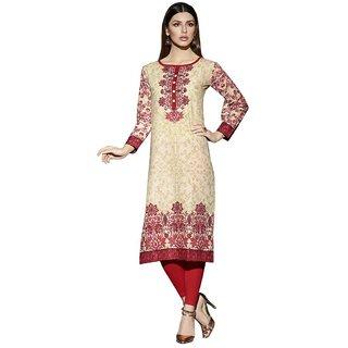 Gayitri Presents Medium Printed Cambric Cotton Kurti(Multi)