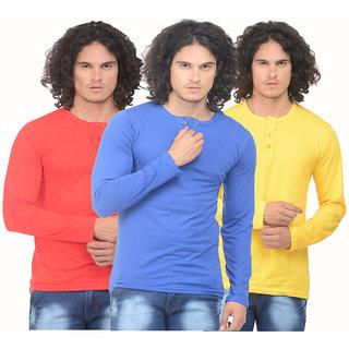 Henley T-Shirt For Men By X-CROSS