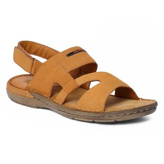204aeb17c Buy Red Chief Rust Men Casual Leather Velcro Sandal (RC1359A 022 ...