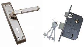 ATOM Vista Mortice Door Handle Set with Double Action Lock