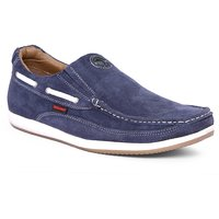 Red Chief Men's Blue Lace-Up Casual Shoes
