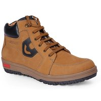 Red Chief Men's Rust Lace-Up Casual Shoes