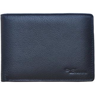 947a878e30e48 Tamanna Men Black Genuine Leather Wallet (9 Card Slots)