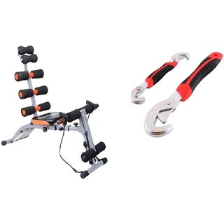 ibs 22 in 1 heavy duty imported six pack fitness body gym care gym ab rocket twister home zone flex king pro six pack