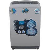 Midea MWMTL070MWO Fully-automatic Top-loading Washing Machine (7 Kg, Grey) - A product of Carrier Midea India