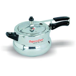 Signoracare Pressure Cooker Handi 3.5 Ltr