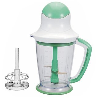 SignoraCare Double Blade 200 Watts Food Chopper-Green