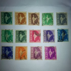 All 14 Different India Map Stamps - Very Rare and Genuine Stamps - Philately -  Dream Posession