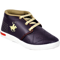 Goodlay Brown Sneakers for Kids