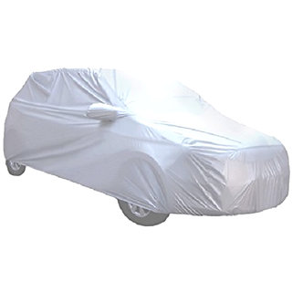 Silver Matty  Car Body Cover For HYUNDAI GRAND i10