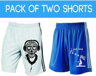Demokrazy Men's Multicolor Shorts