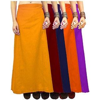 eFashionIndia Women Cotton Saree Petticoats Inskirt combo of 41