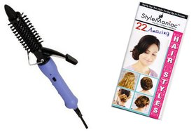 Style Maniac Hair Curling Rod SM-NHC-16B  With an attractive freebie hairstyle booklet