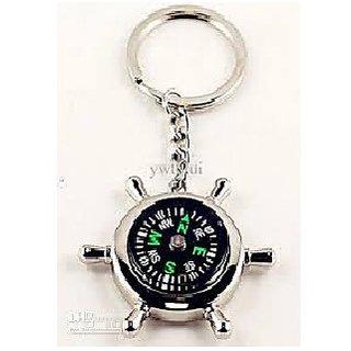 love4ride compass keychain