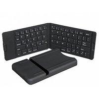 IWERKZ 44672 Waterproof Bluetooth Folding Keyboard (Whi