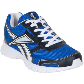 reebok mens running shoes. reebok men\u0027s ree scape run coll navy blue and white running shoes mens