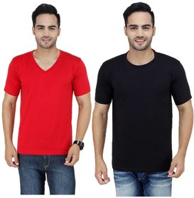 Stylogue Trendy T-shirts For Men (Combo of 2)