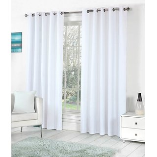 BSB Trendz Plain Single Window Curtain (PS-94)