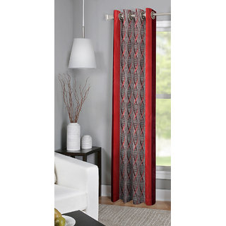 BSB Trendz Printed Single Door Curtain (PS-163)
