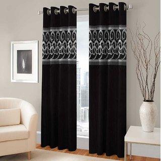 BSB Trendz Panle Print Pack Of 2 Door Curtain (P-145)