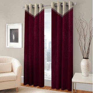 BSB Trendz Panle Print Pack Of 2 Door Curtain (P-150)