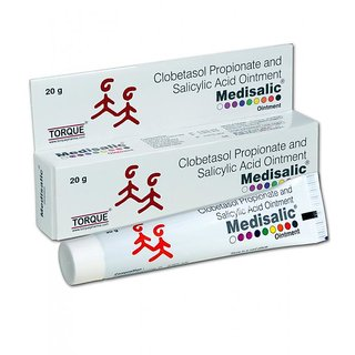 Medisalic Ointment Anti-Acne 20 gm each (pack of 4 pcs.) )