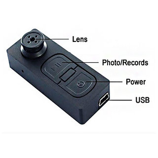 Latest Spy Button Camera High Definition