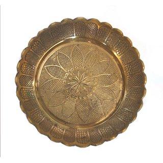 Haridwar Astro Havy Brass Pooja Thali