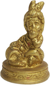 Haridwar Astro Bal Krishna Brass Idol 1 inch