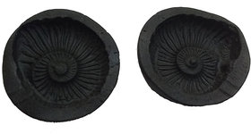 Shaligram Laxmi Narayan with Sudarshan Chakra Stone 1.5 inchs