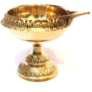 Haridwar Astro Brass Golden Deepak
