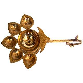 Haridwar Astro Brass Panch Aarti Deepak