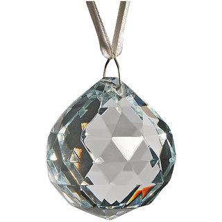 Haridwar Astro Crystal Hanging Ball in Funshui 4cm