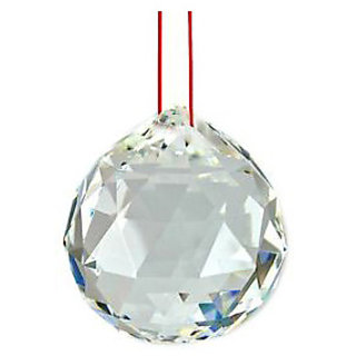 Haridwar Astro Crystal Hanging Ball in Funshui 3cm