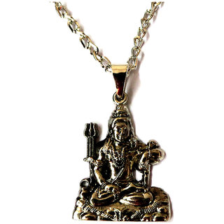 Haridwar Astro Shiv Om Locket with Chain
