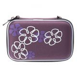 """2.5"""" Portable 2.5 Inch Hard Disk Drive Bag Zipper Pouch Case HDD Pouch Bag Protective Hard Shockproof Cover Carry Purple"""