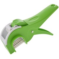 ANKUR Plastic Vegetable Cutter Regular, Green (No. of Pieces 1)