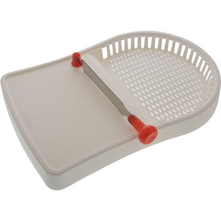 ANKUR Plastic Cut N Wash Board, 1 Piece, White