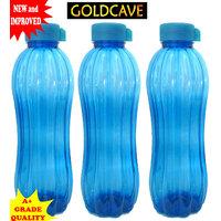 GOLDCAVE Water Bottle -1.2 Litres Each -Set Of 3 Bottles