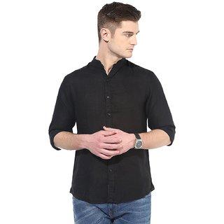 Men's Casual Slim Fit Linen Shirt