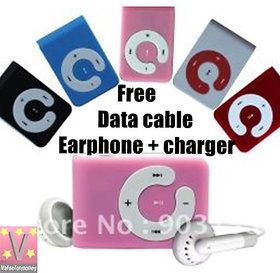 Sonilex MP16 Mp3 Player Free Earphone + Data Cable