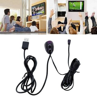 buy tv set top box ir infrared remote control receiver extender repeater emitter usb online. Black Bedroom Furniture Sets. Home Design Ideas