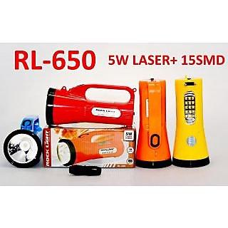 ROCK LIGHT RL-650 5W LASER+15SMD