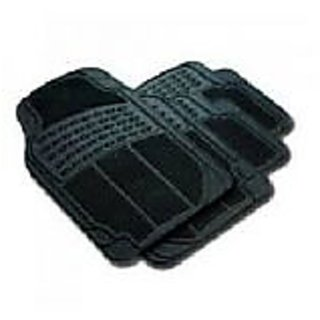 Universal Size Black Car foot Mats - set of 4pcs
