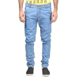 Blue Men's Regular Fit Jeans
