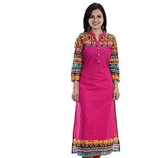 Bankcroft Export Women's Cotton Kurta