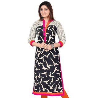 Dheylu Creation Women's Georgette Kurta