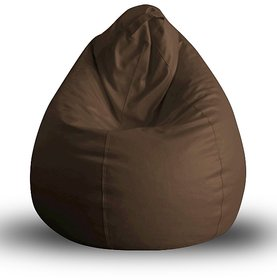 UK Bean Bags Classic Bean Bag Cover Brown Size L